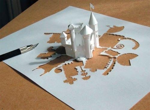 Бумажный замок